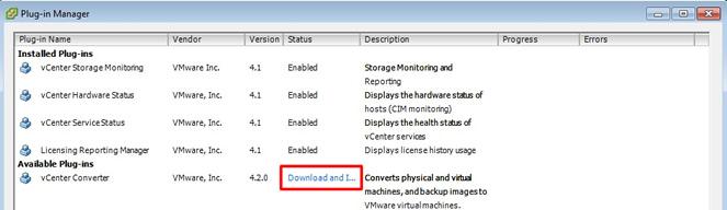 VMware - P2V